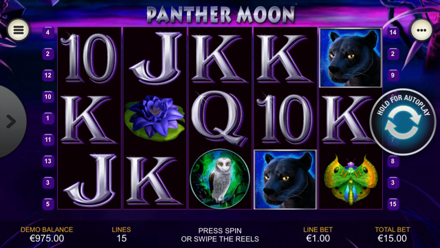 Panther Moon Slot -12768