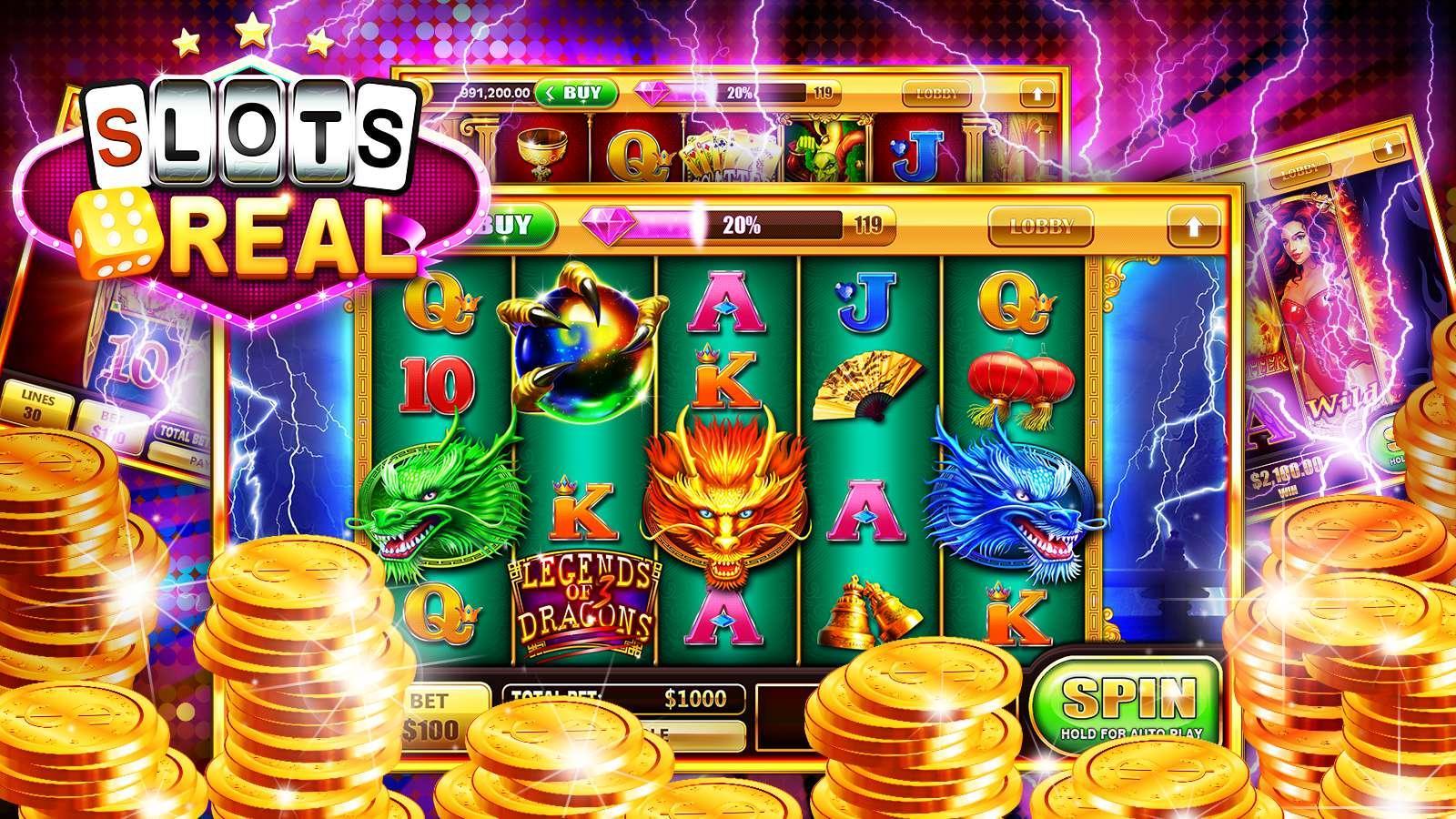 3d Slots Cash -39919