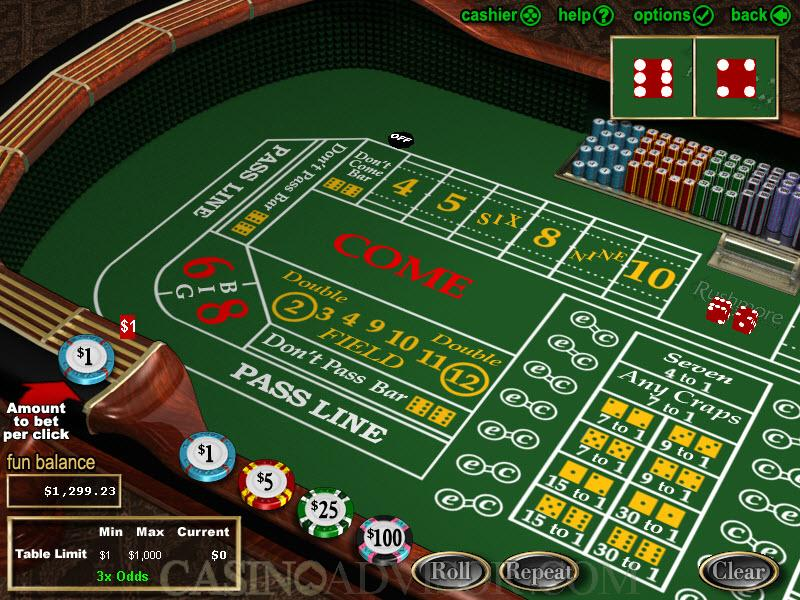 Come Bet Strategy -54751