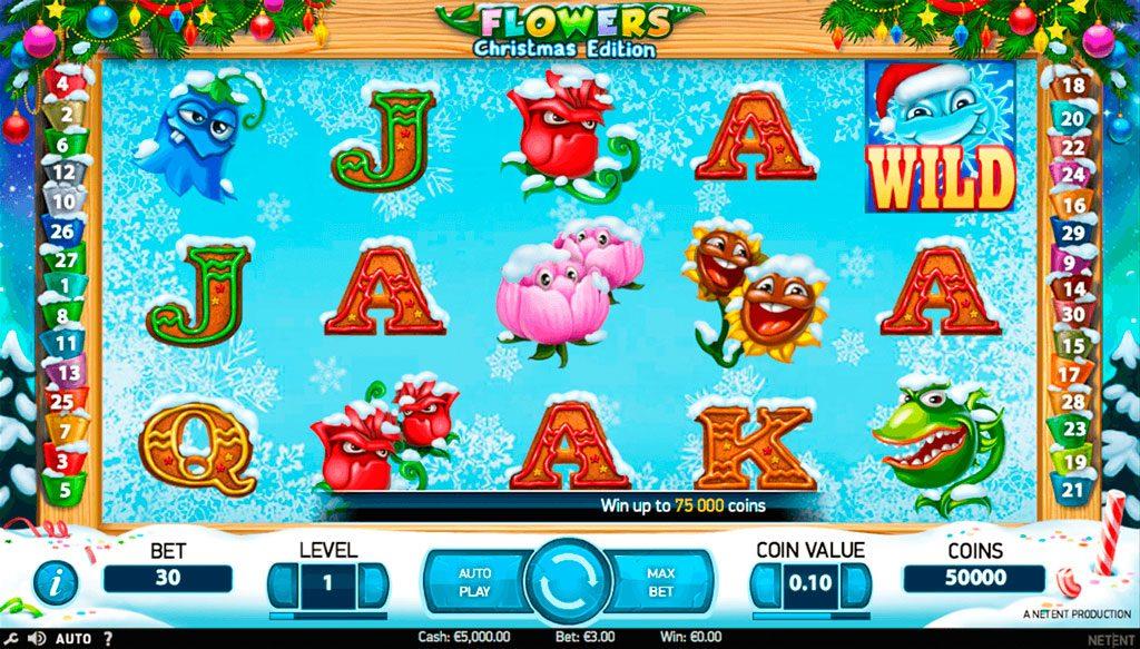 Flowers Slot -50757