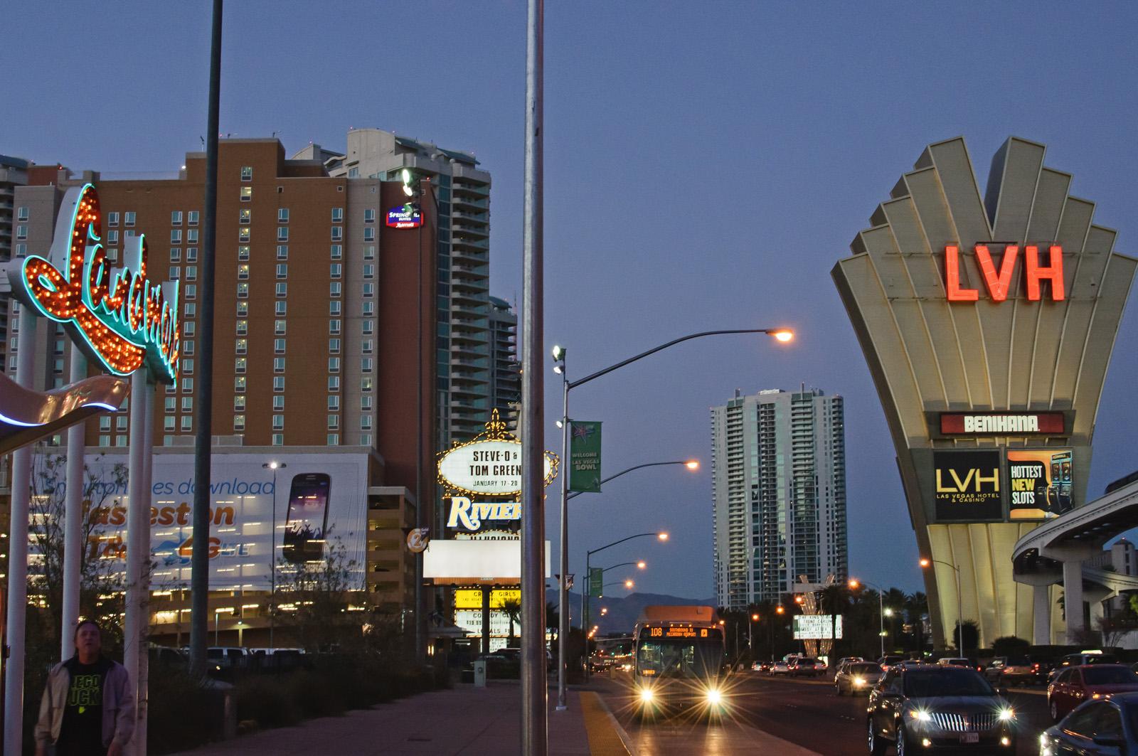 Vegas Strip -48052