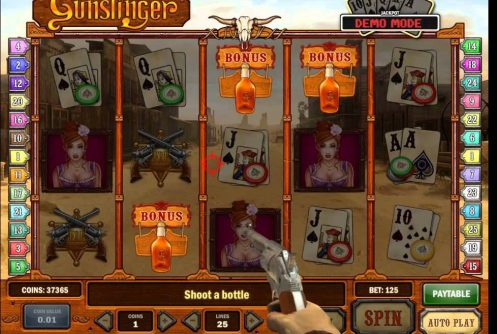 Gunslinger Slot -75457