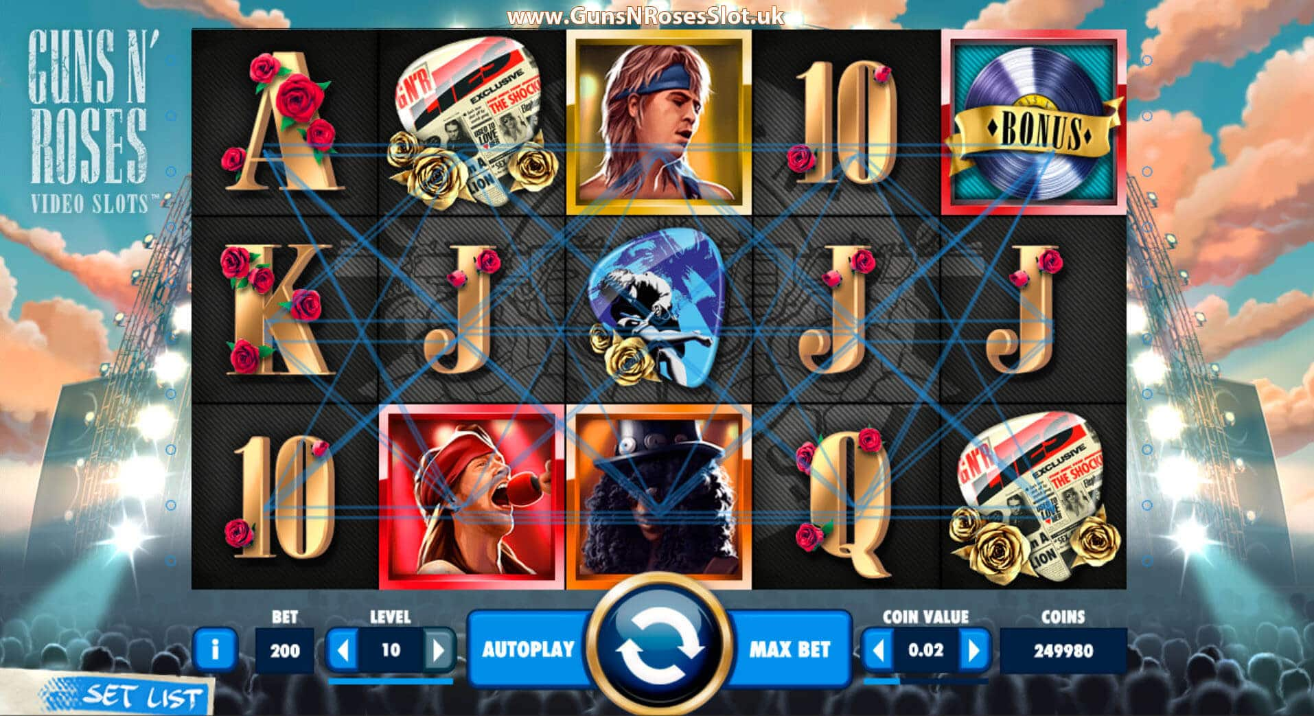Slots With -82958