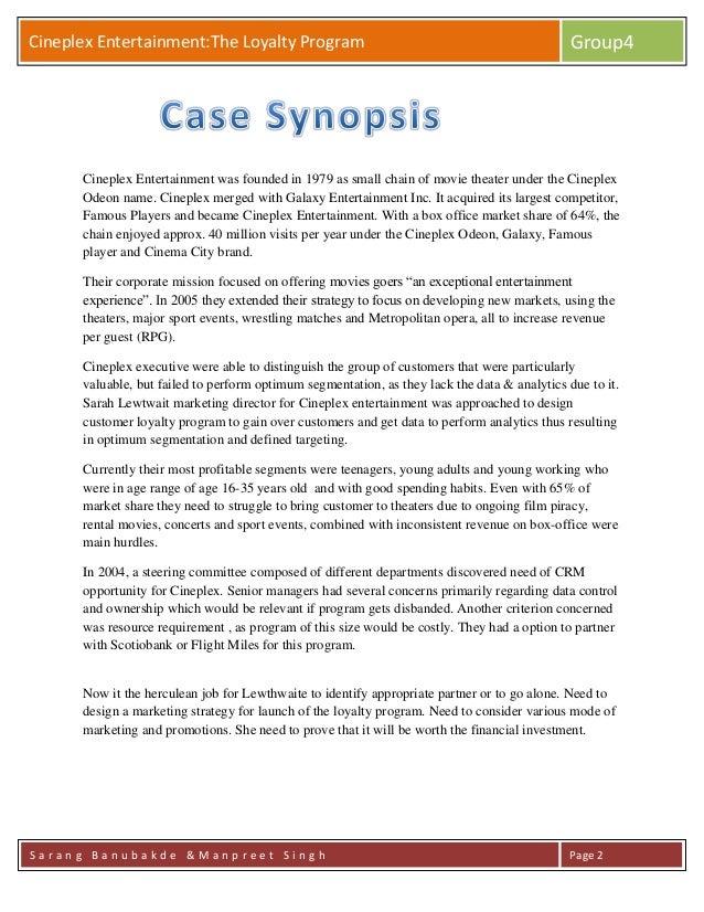 Loyalty Program Case -36635