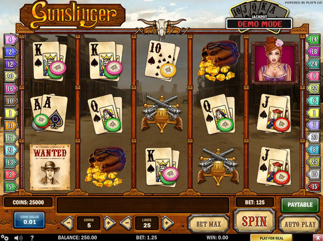 Gunslinger Slot Casino -28195