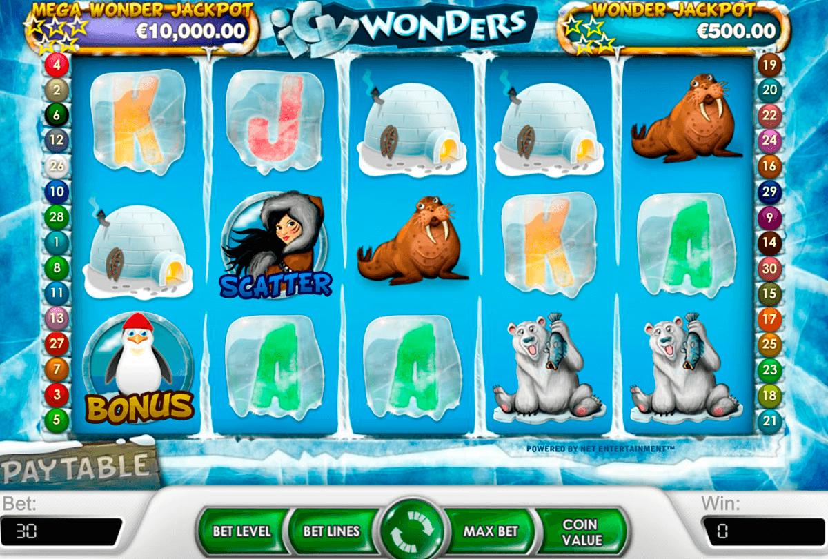 Icy Wonders Slot -34127