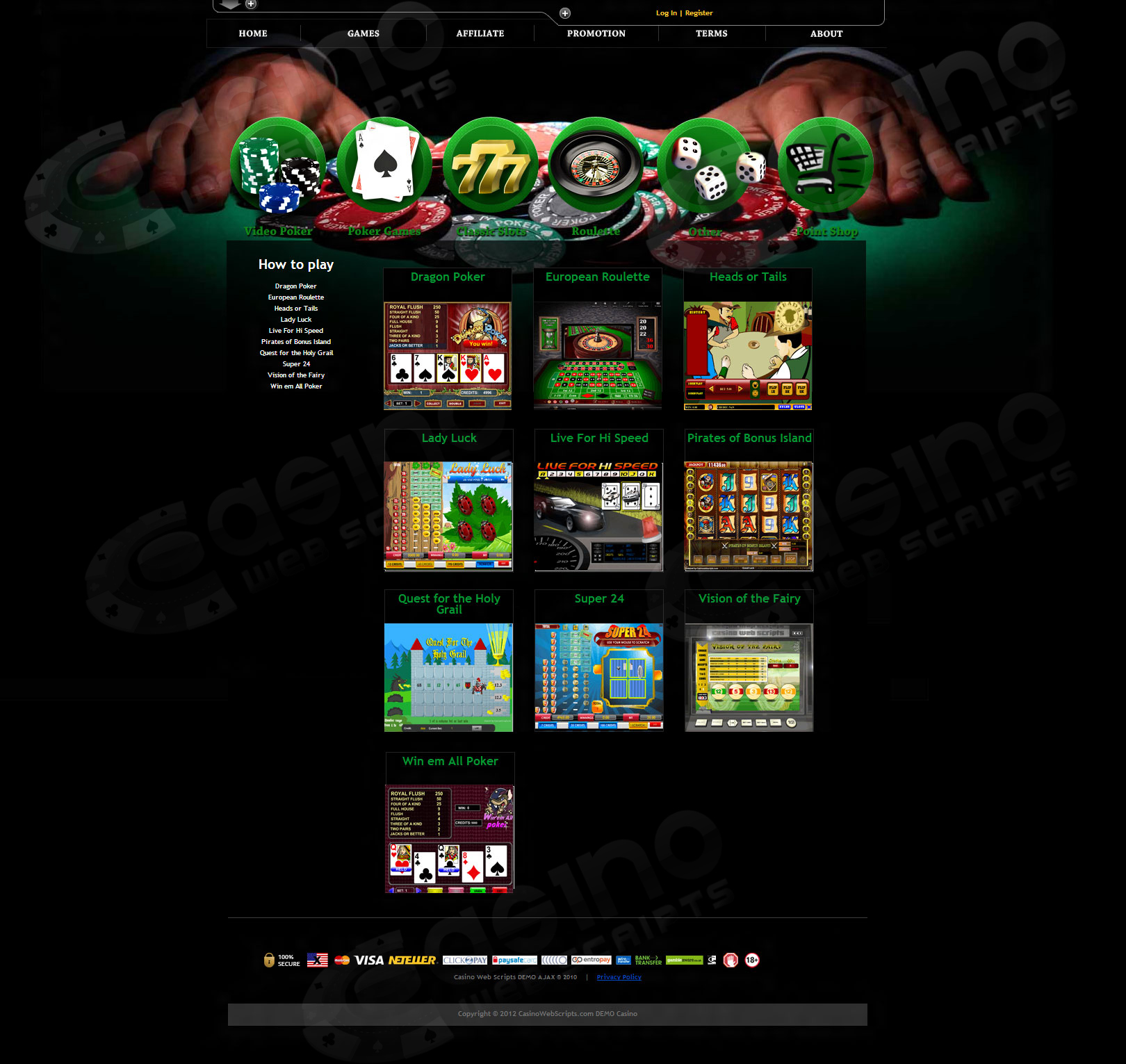 Online Casino -64550