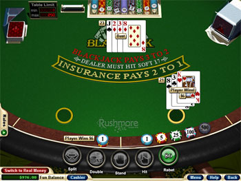 Blackjack Odds -41643