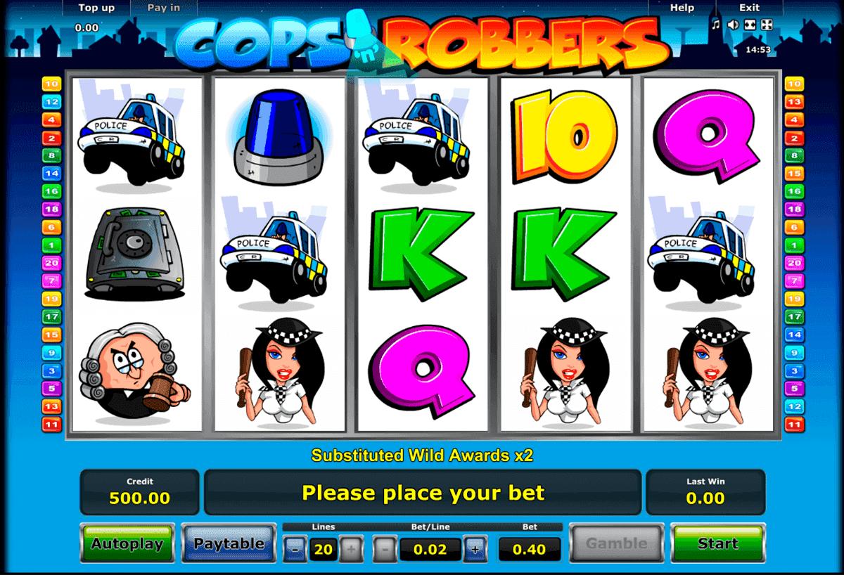 Cops Robbers Slot -63704
