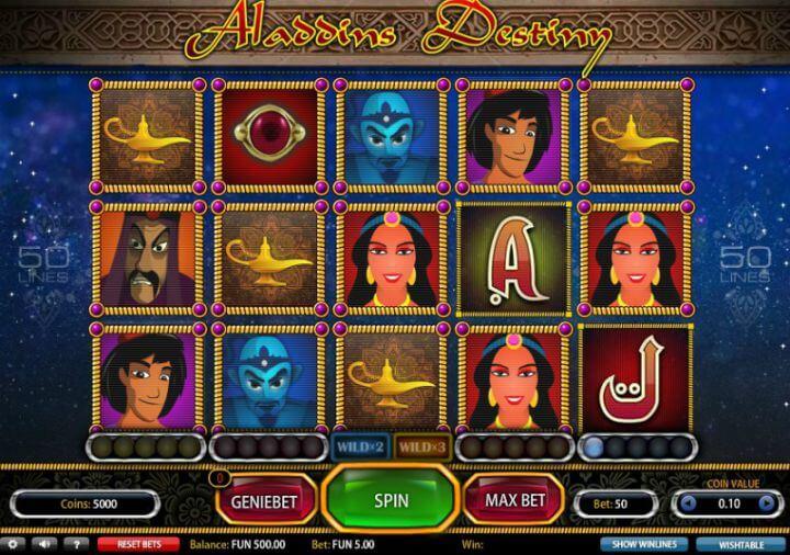 Aladdins Destiny Slot -12747