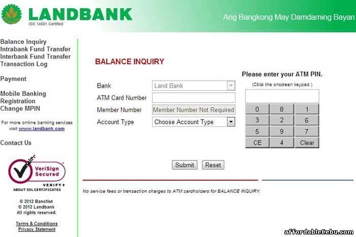 Balance Cash -61828