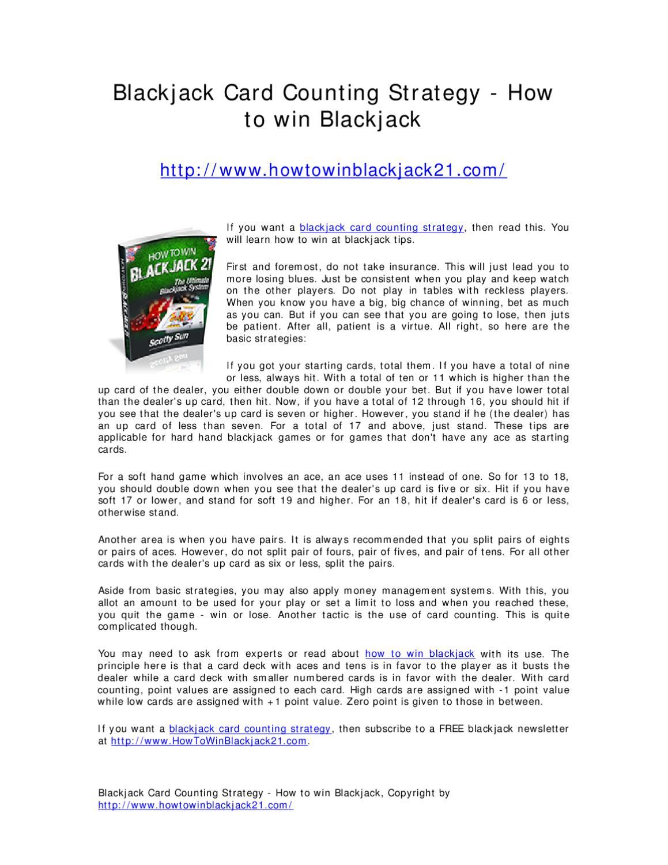 Blackjack Card Counting -76880