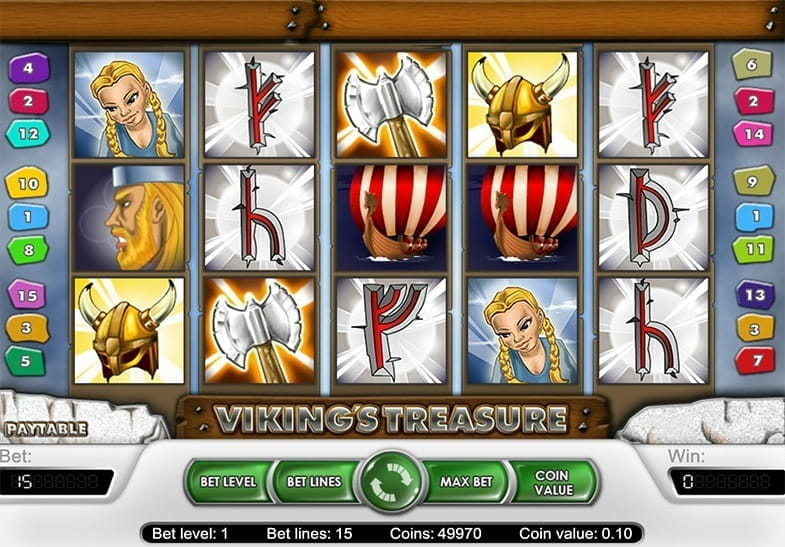 Viking Treasure Slot -75922