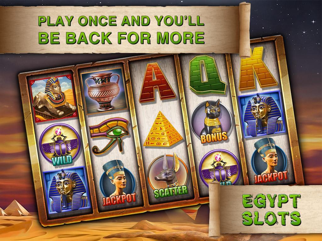 Egyptian Slots Bonus -35715