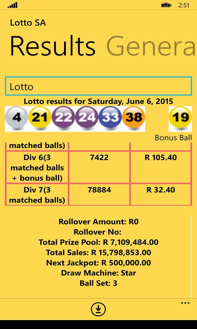 Jackpot Winners in -25675