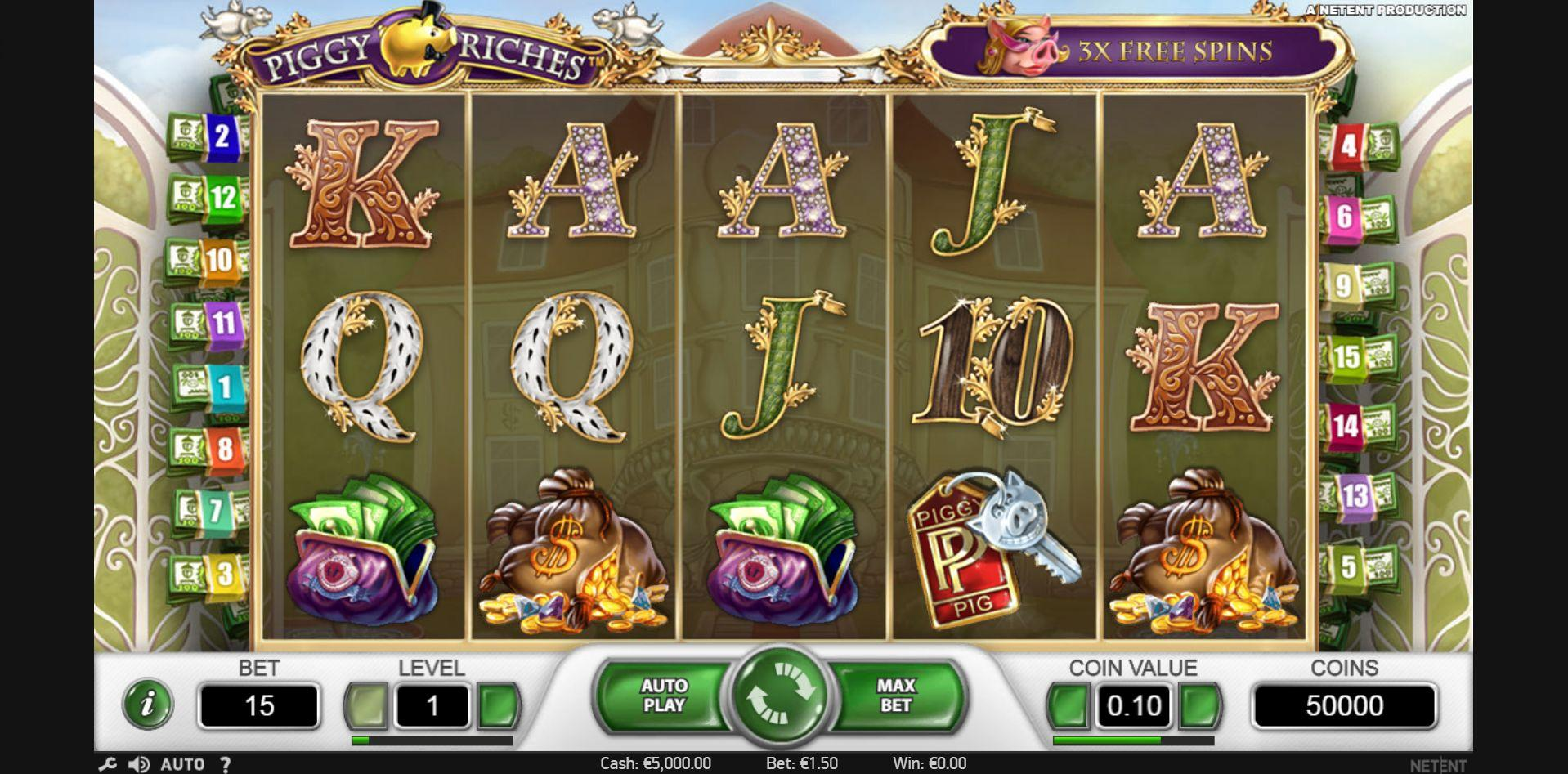Piggy Riches Slot -10270
