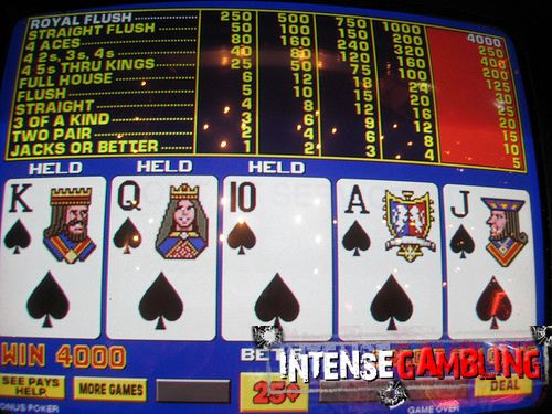 Royal Flush in -48121
